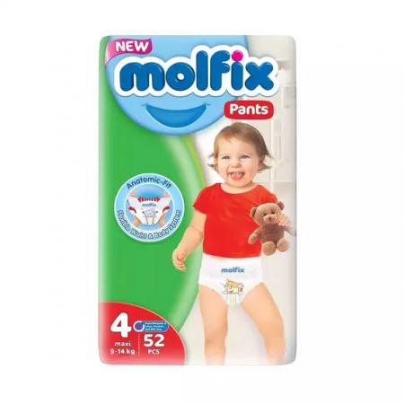 Molfix Baby Diaper Pants 4 Maxi 9-14 Kg